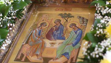 Привітання голови ради адвокатів Донецької області з Днем Святої Трійці!